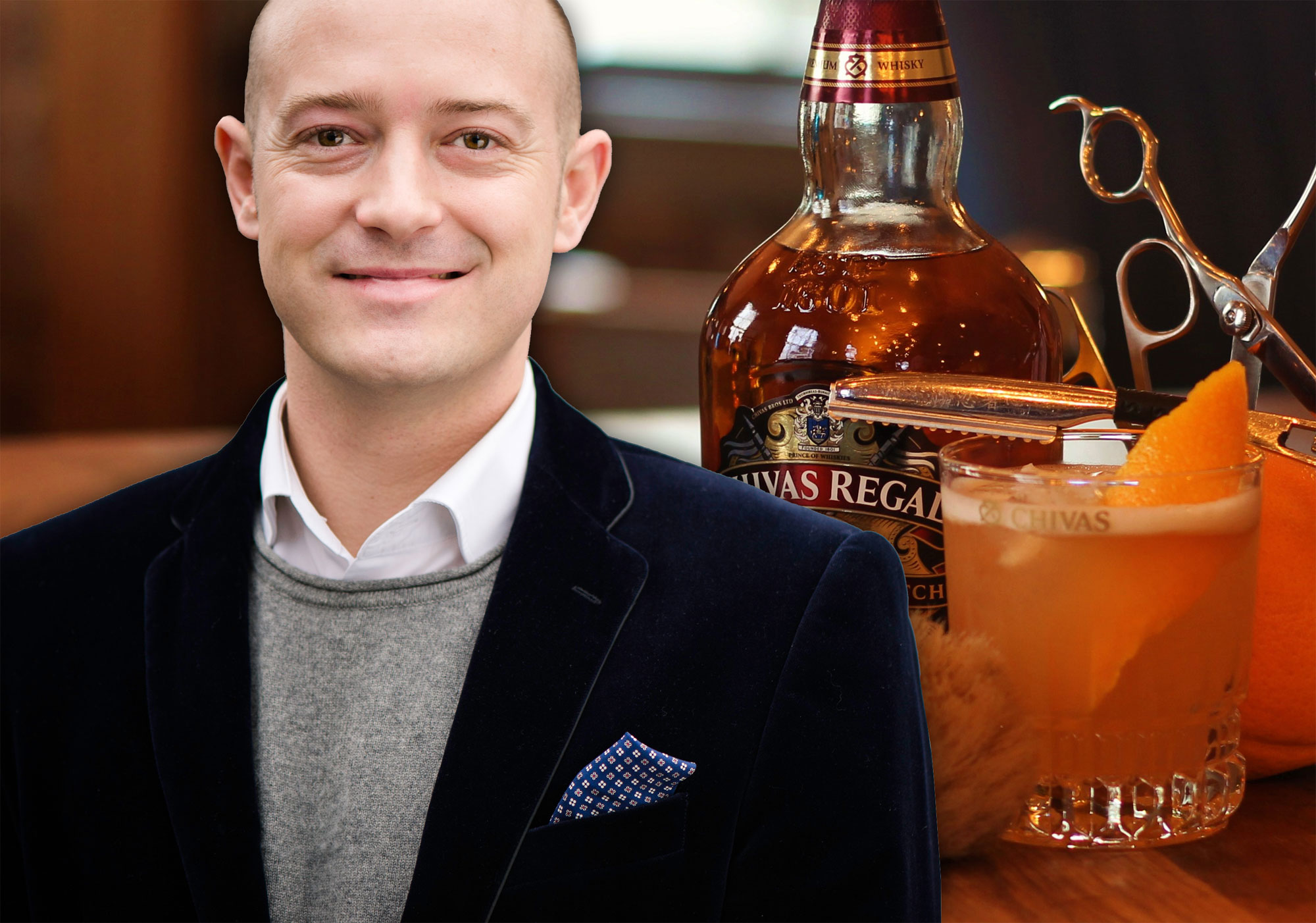 We Meet Max Warner, International Brand Ambassador For Chivas Regal Whisky