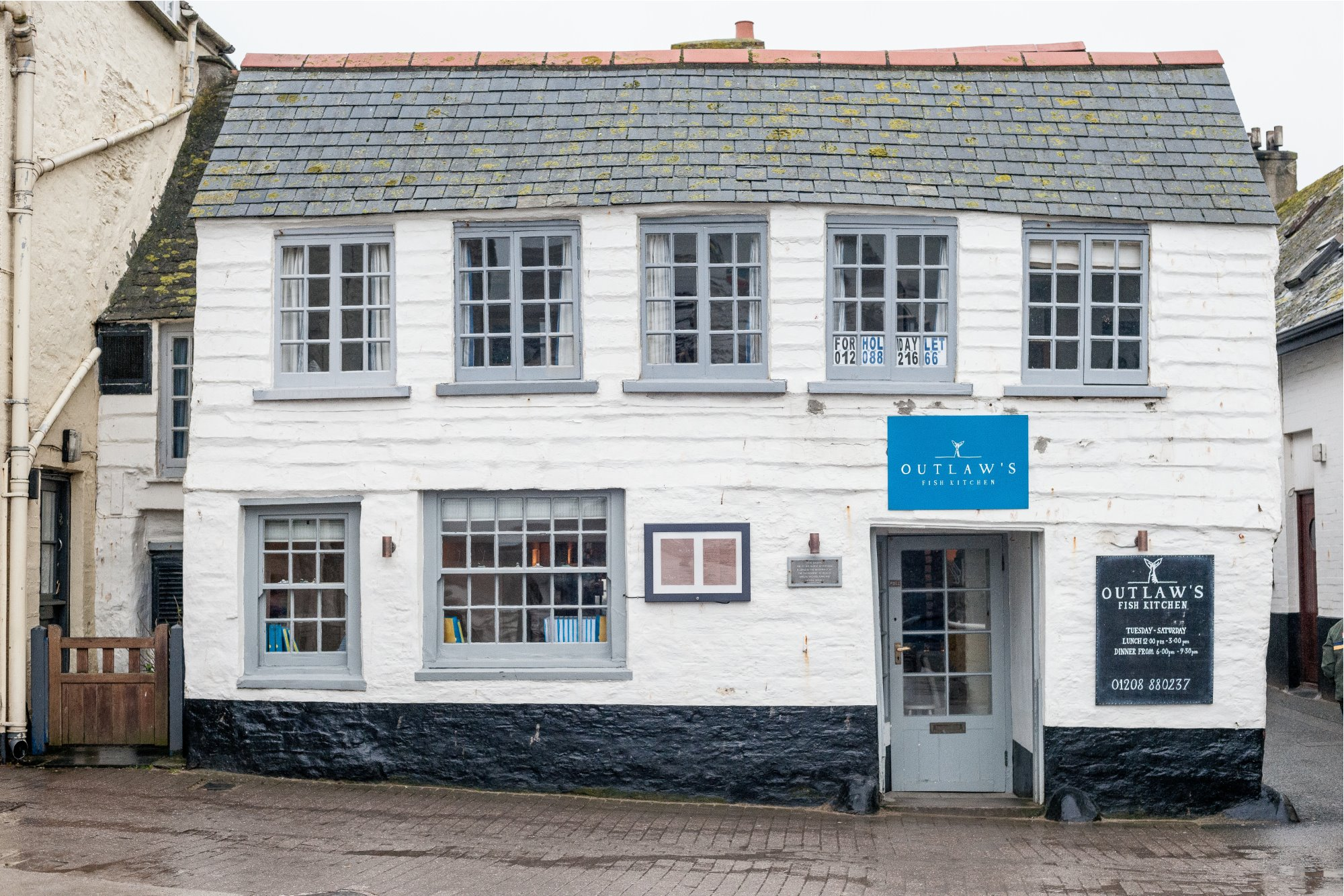 Restaurant Nathan Outlaw in Cornwall