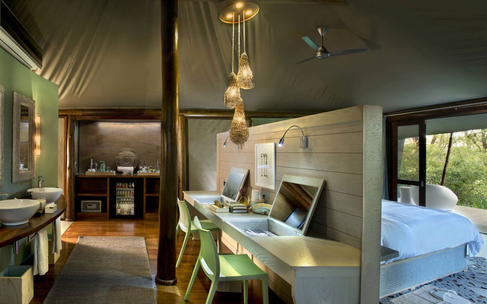 Ngala Tented Camp, South Africa