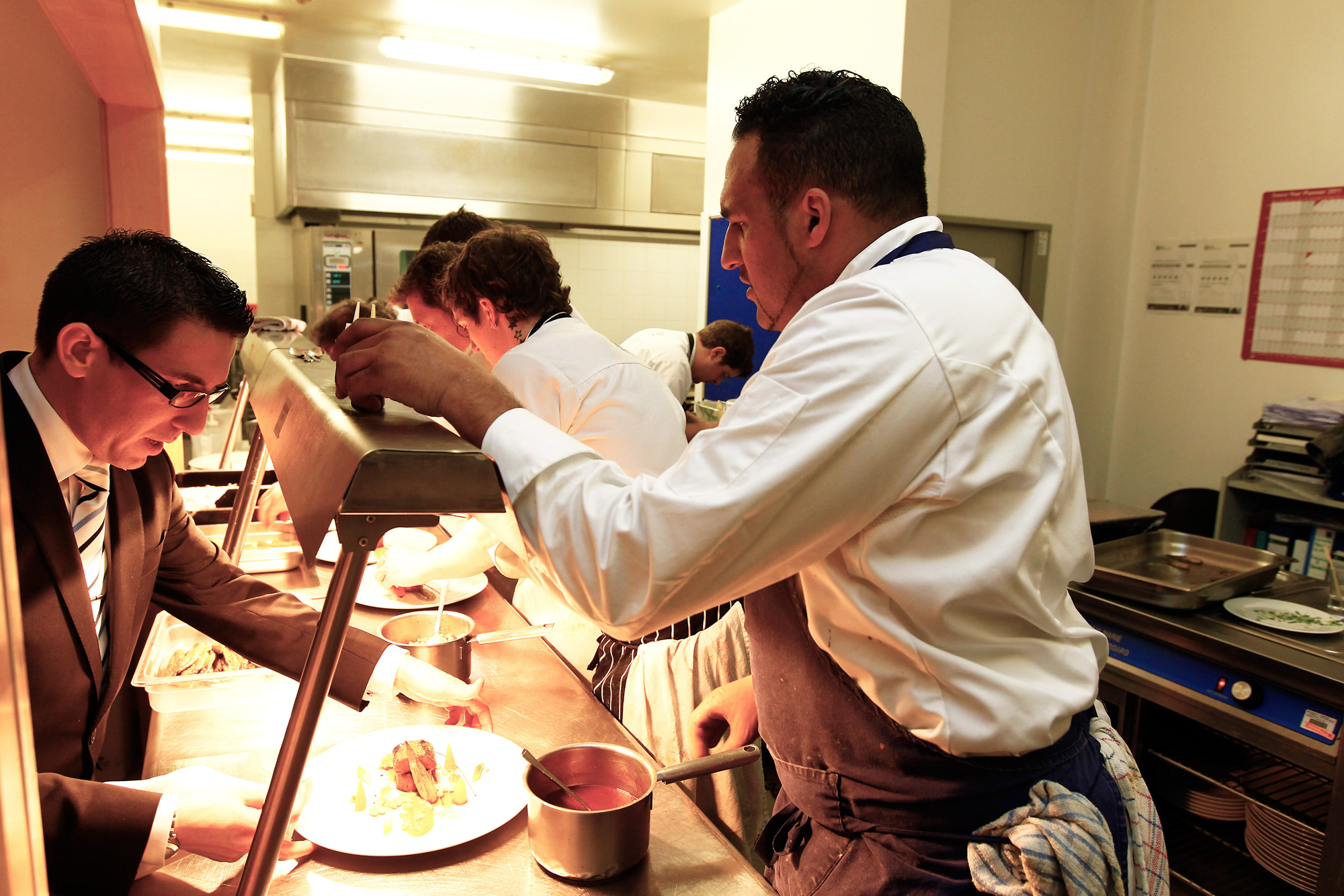 Double-Michelin-starred Chef Micheal Caines, MBE