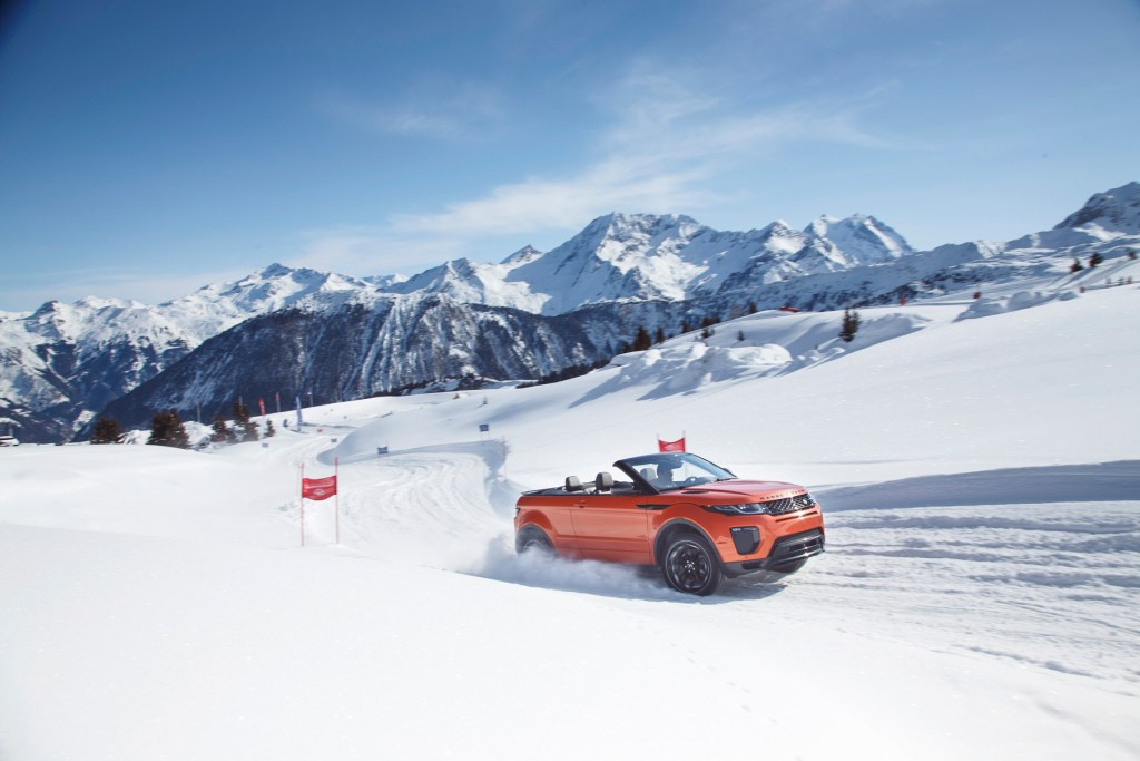 Road Testing The New Range Rover Evoque Convertible 7