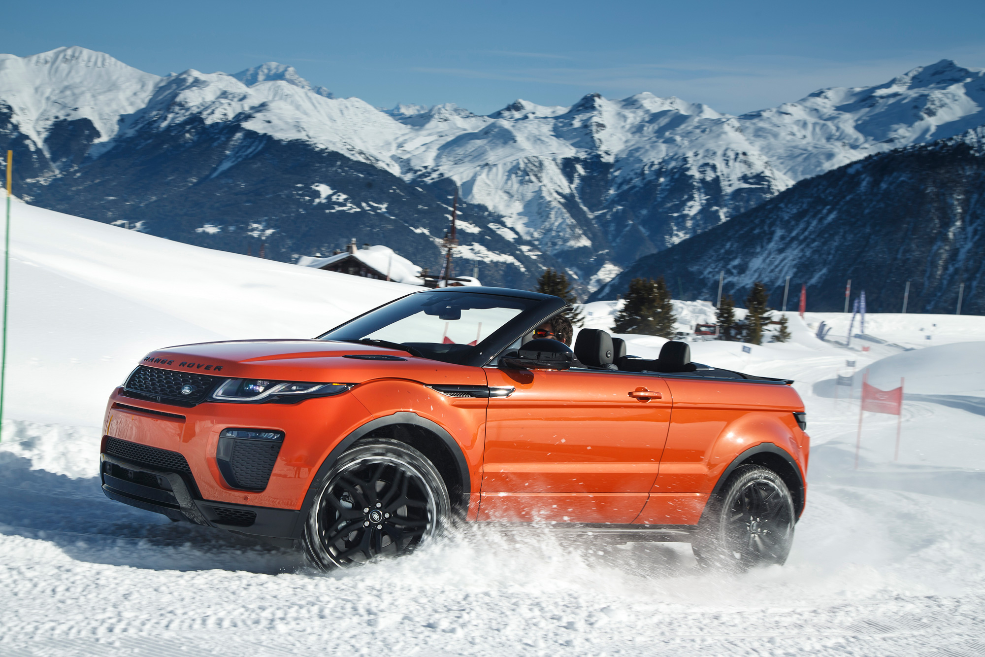 Road Testing The New Range Rover Evoque Convertible 1