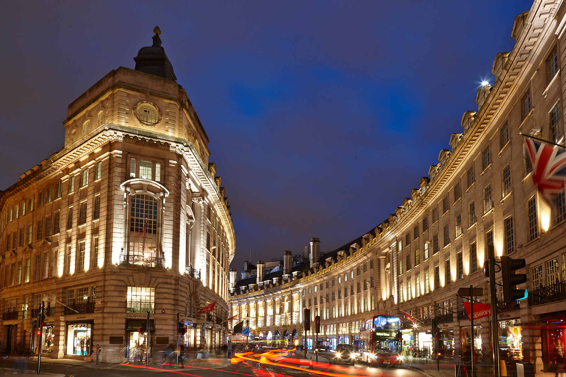 Ten Great Places To Eat In And Around London's Renowned Regent Street