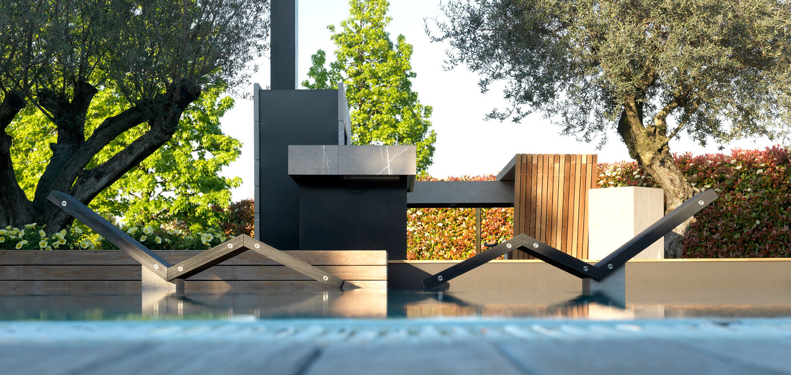 Bring The Inside Outside With The Modulnova Outdoor Kitchen 2