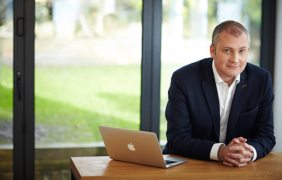 eMoov CEO, Russell Quirk