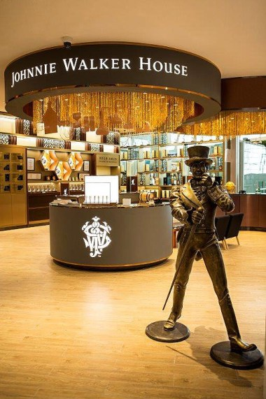 Travellers At Asian Airports To Experience Johnnie Walker Houses 2