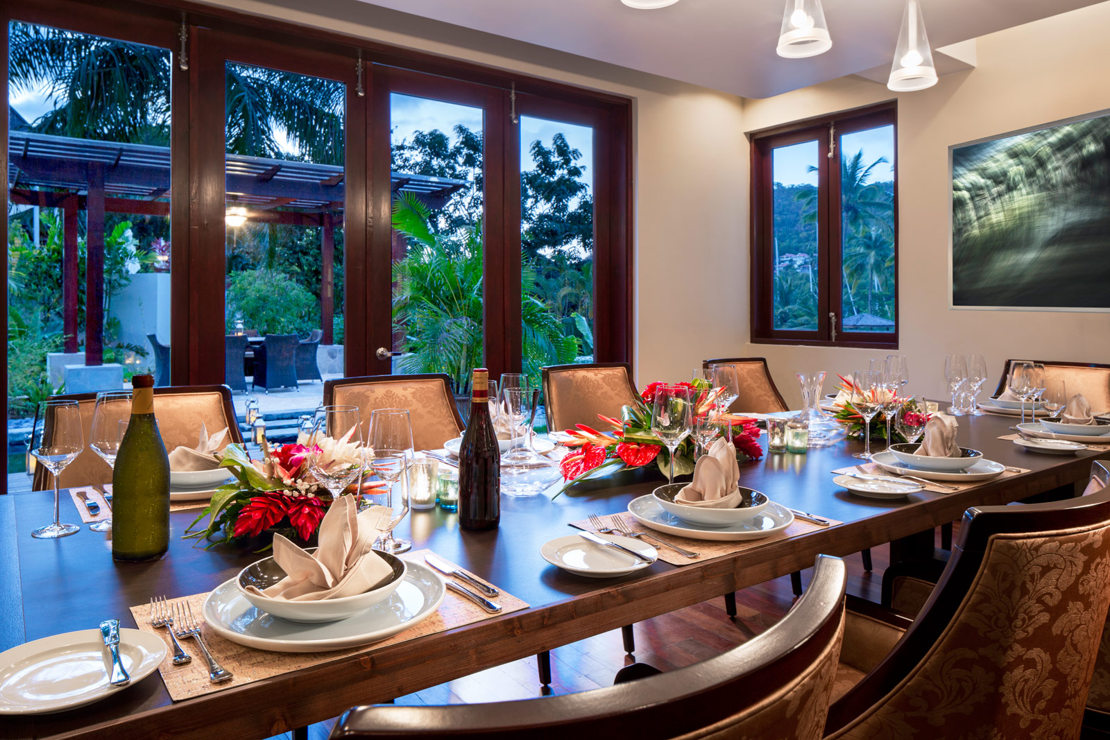 alexandria-private-dining-room-st-lucia
