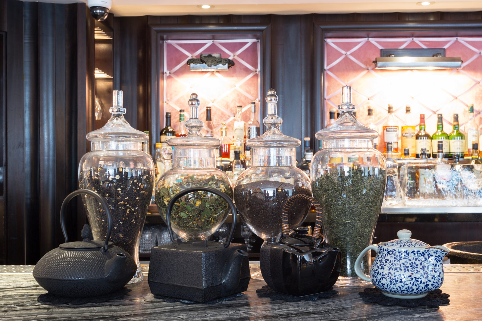 A High Standard Of Low Tea At The Luggage Room