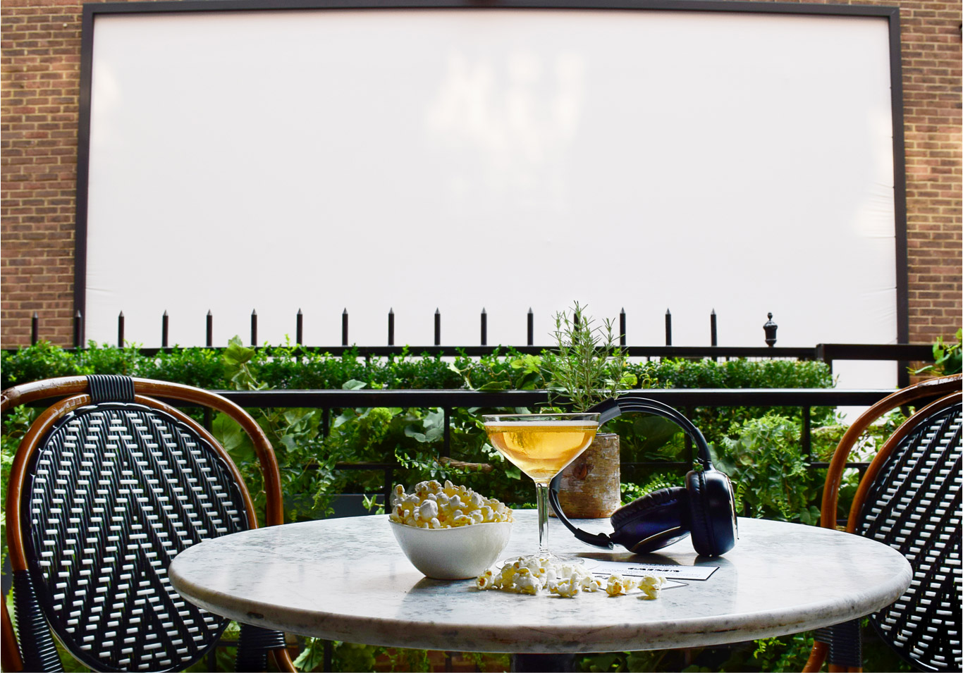 Dalloway Film Club Review: London's First Luxe Outdoor Cinema
