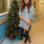 Made in Chelsea's Binky Felstead Visits Young Patients At Royal Brompton Hospital 3