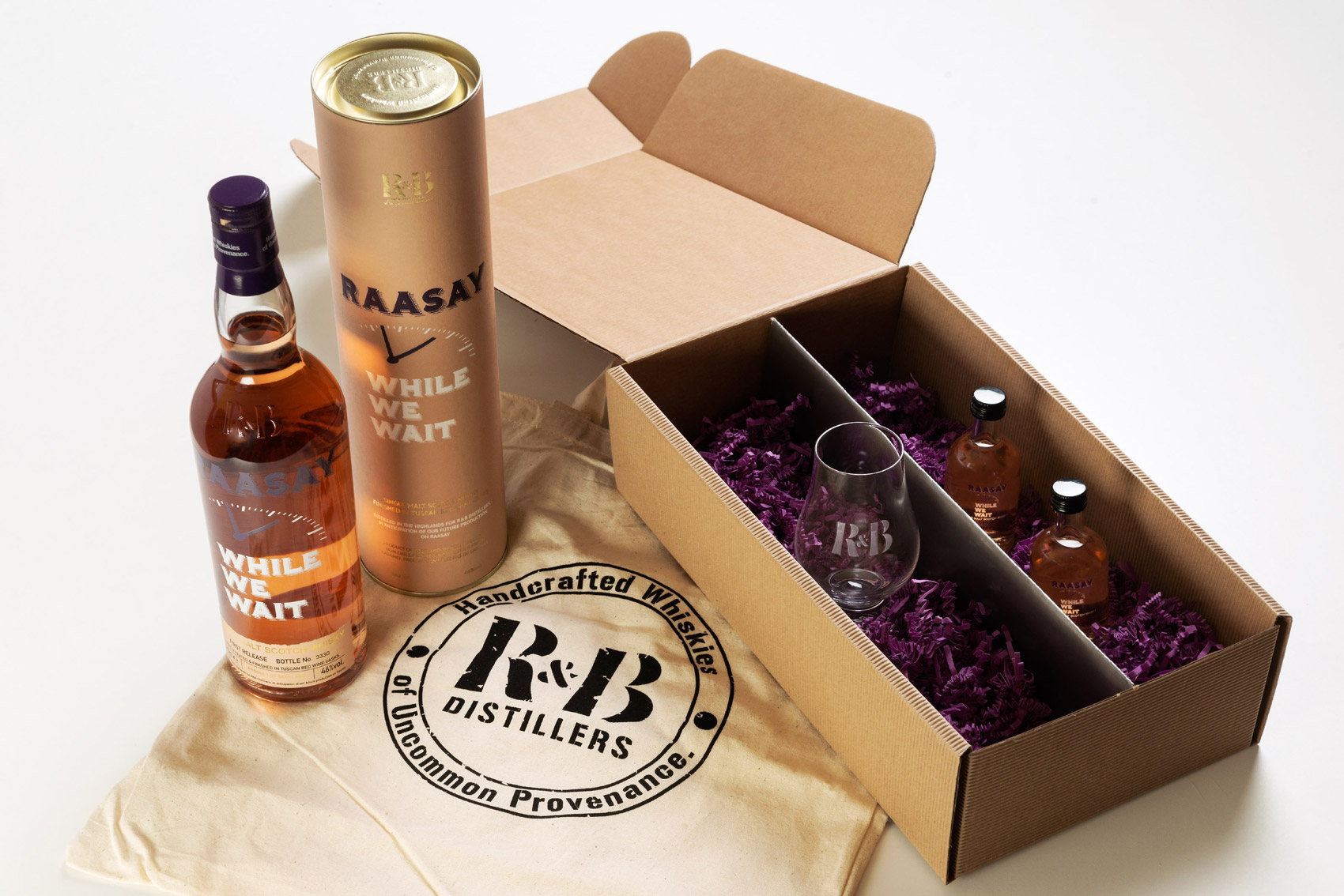 Time to Raise Your Glasses to Mark two Distinctive New Whiskies by R&B Distillers