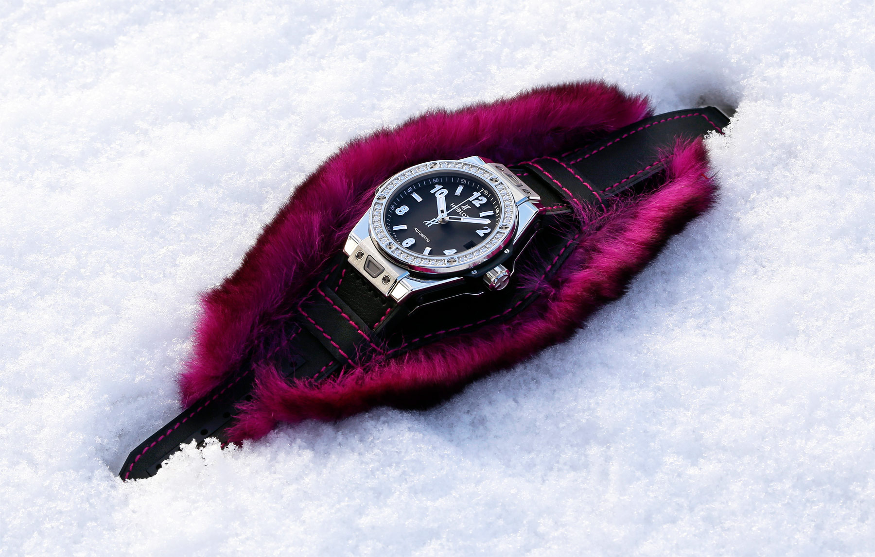 Hublot Goes 'Fluffy' With The Big Bang One Click Cuddly Cuff Collection 3