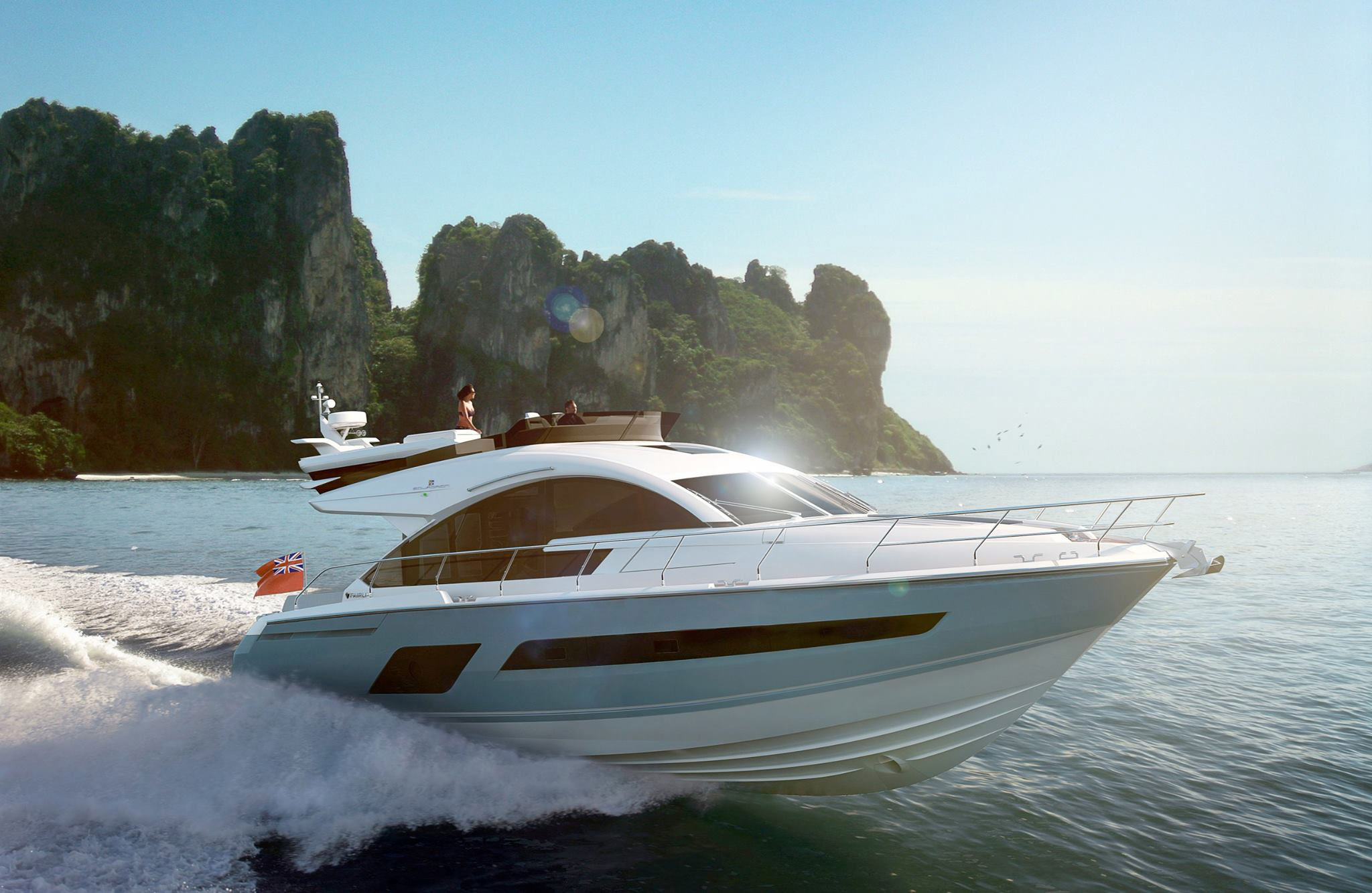 Opulence Afloat In A Fairline 2