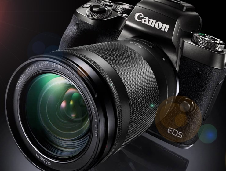 The Canon EOS M5