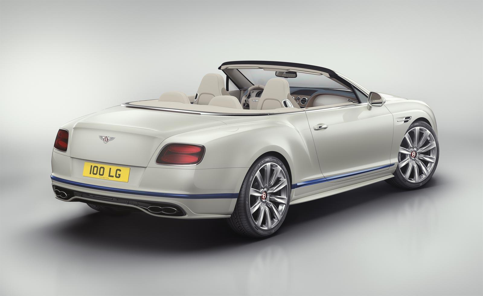 Bentley Motors And Princess Yachts Continental GT