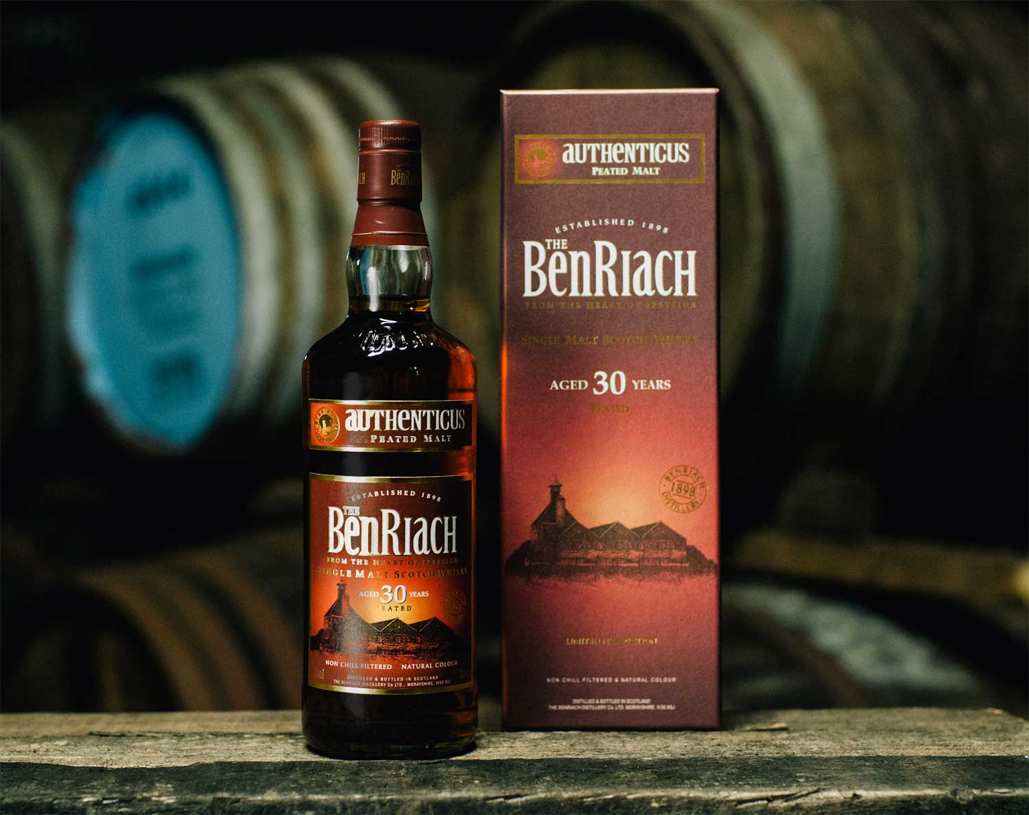 BenRiach Releases Rare Peated Speyside Authenticus 30 Years old 3