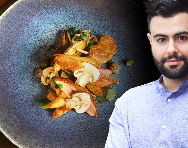PiedàTerre Head Chef, Asimakis Chaniotis