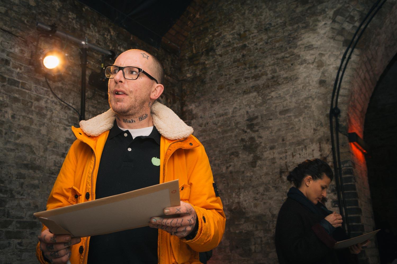 British Artist, Ben Eine, judging at the Rise Art Prize