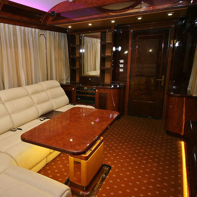 The Romanov Suite - An Entire Private Carriage Aboard the Golden Eagle Train 8