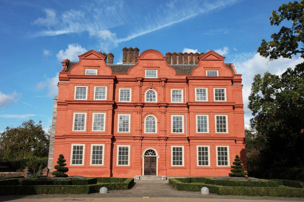 The stunning exterior of Kew Palace
