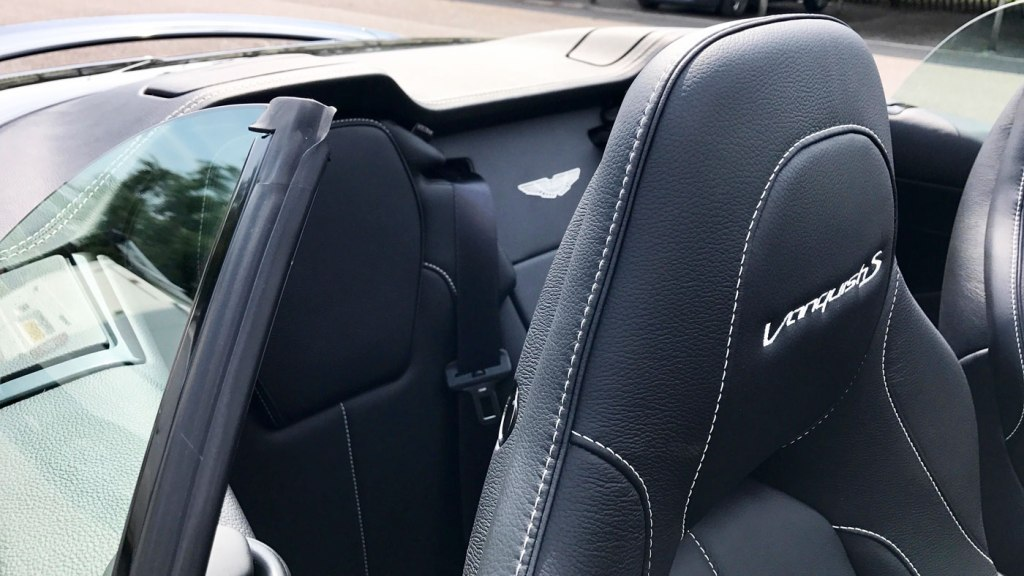 Jeremy Webb Behind The Wheel Of The Aston Martin Vanquish S Volante 2