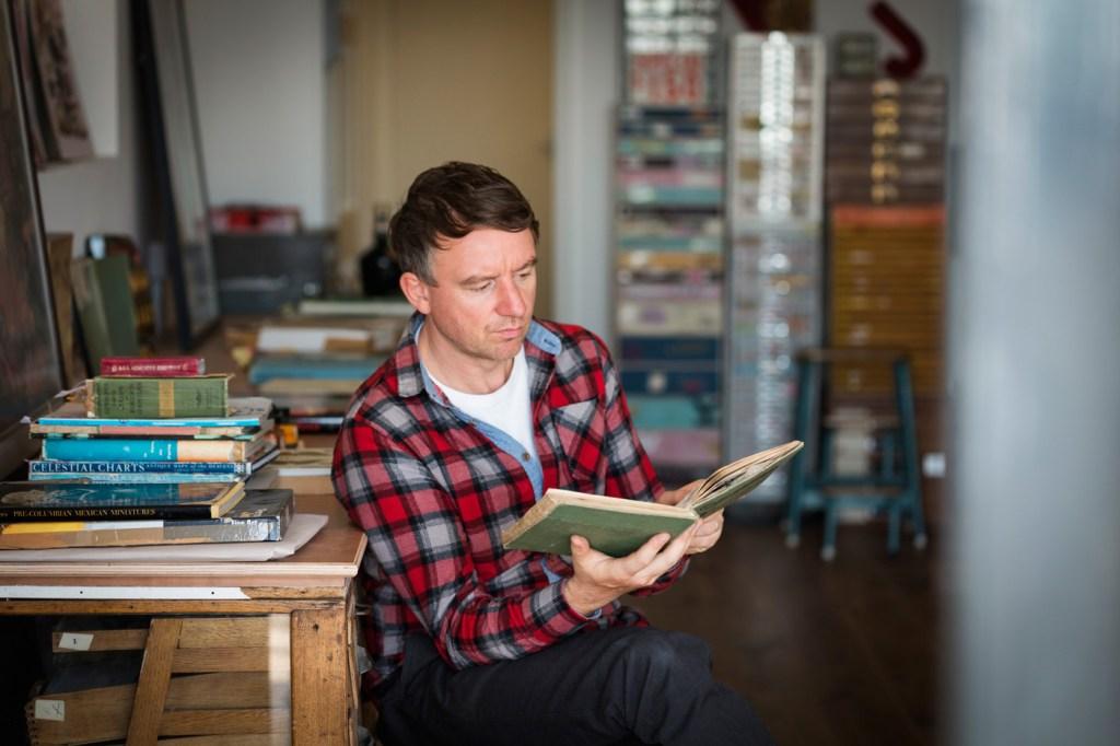 British artist Martin O'Neill