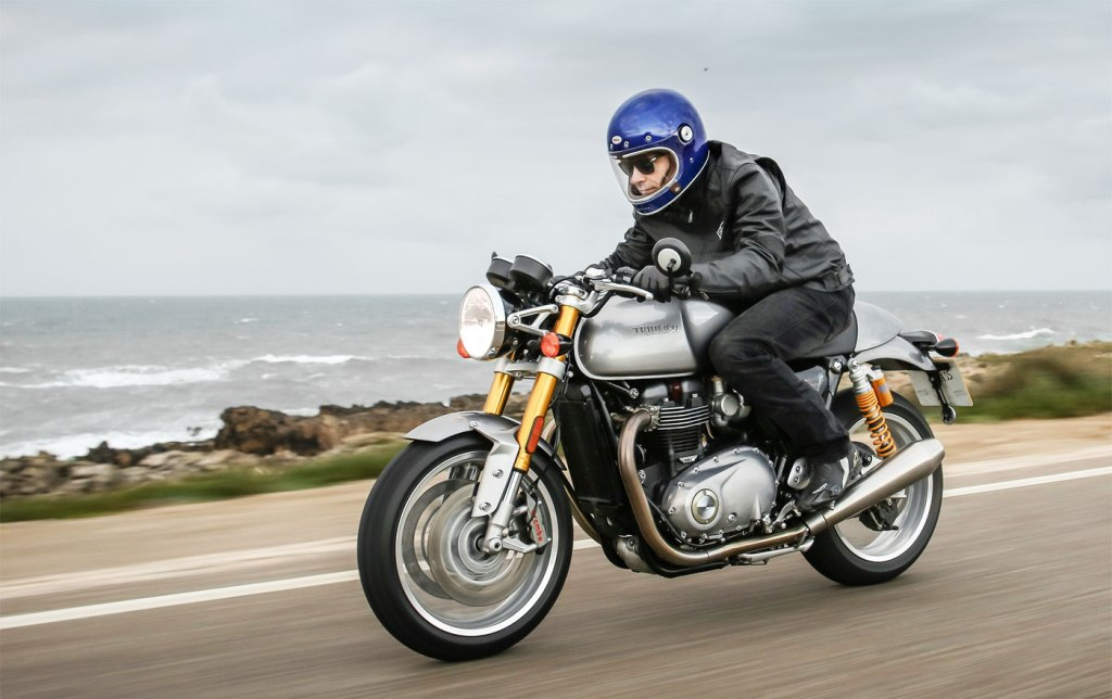 A Trip Back In Time, With The Triumph Thruxton R 4