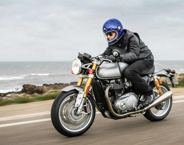 A Trip Back In Time, With The Triumph Thruxton R 14