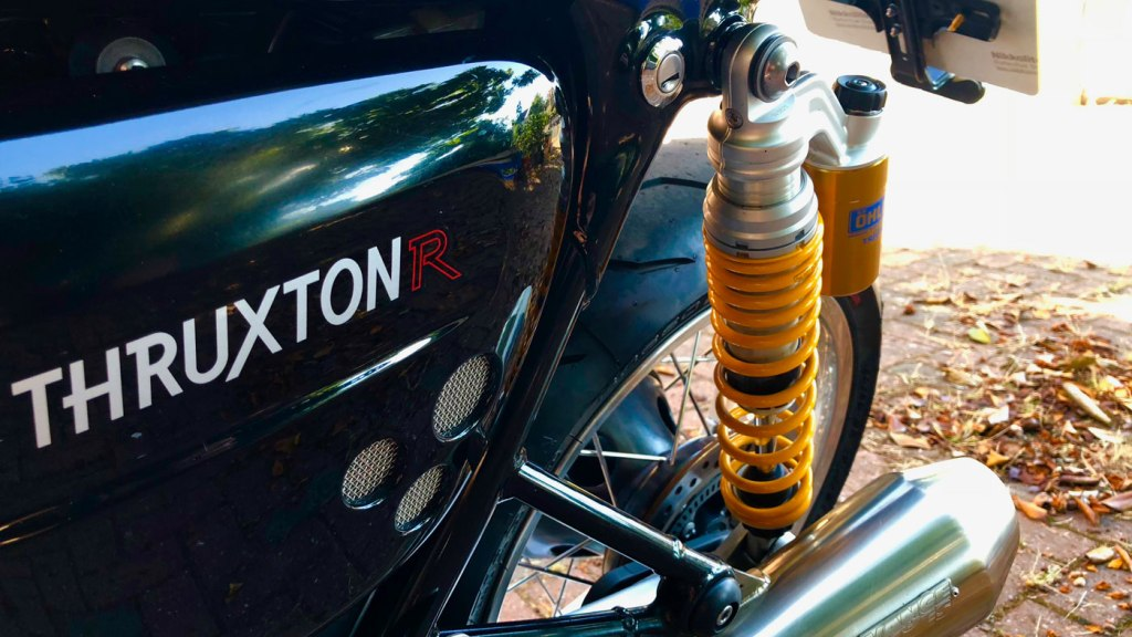 A Trip Back In Time, With The Triumph Thruxton R 5