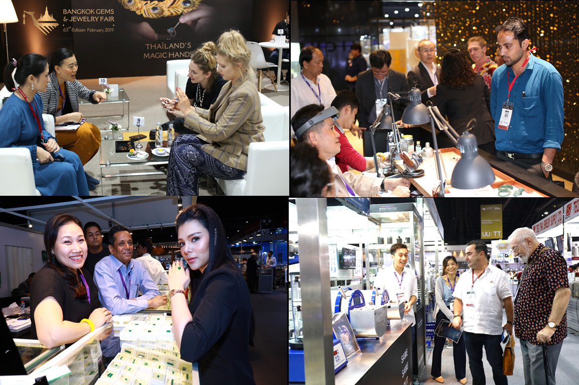 More Than 14,000 Visitors Experienced The 63rd Bangkok Gems & Jewelry Fair 8