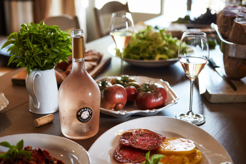 Brad Pitt & Angelina Jolie's Château Miraval Vineyard to Launch New Rosé 5