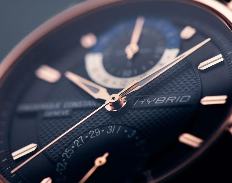 Frederique Constants Hybrid Manufacture dial