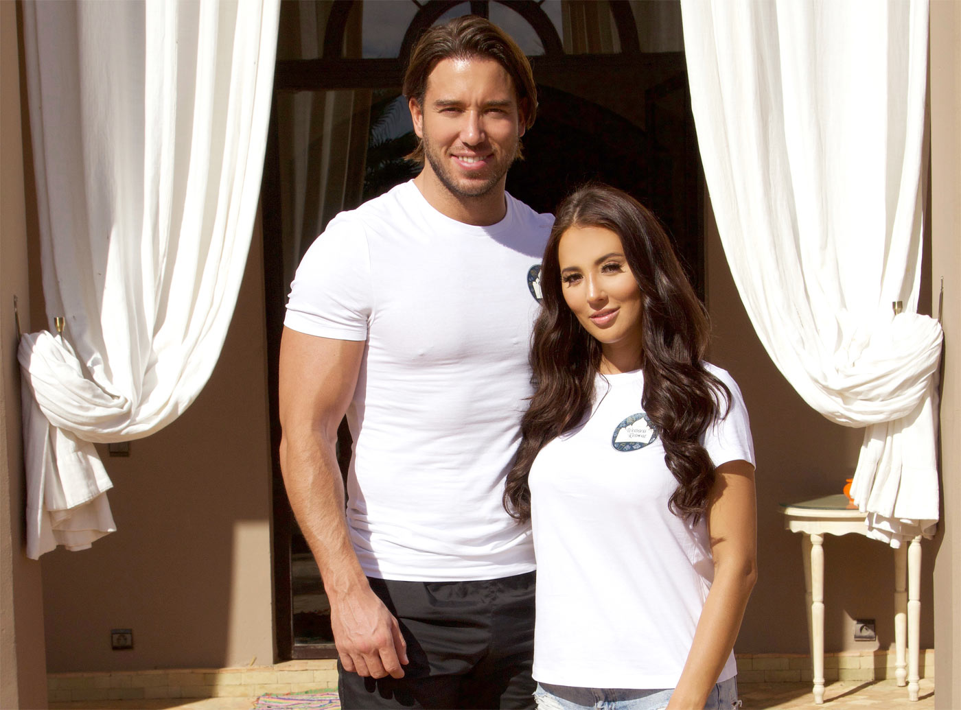 James Lock and Yazmin Oukhellou