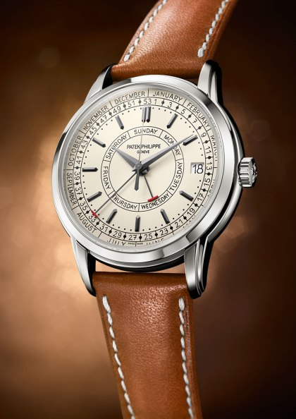 Patek Philippe Unveils Calatrava Weekly Calendar Timepiece 5