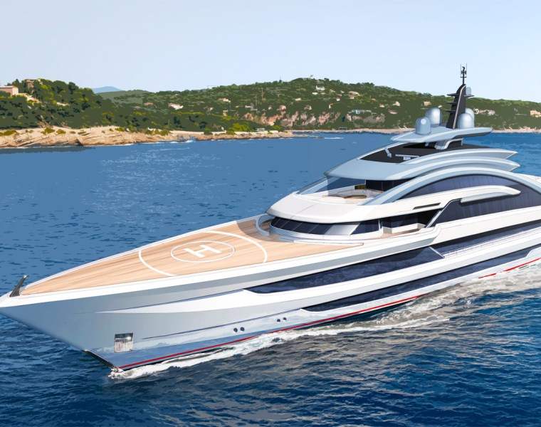 A Glimpse Into The Universe Of Heesen Yachts' Project Cosmos 21