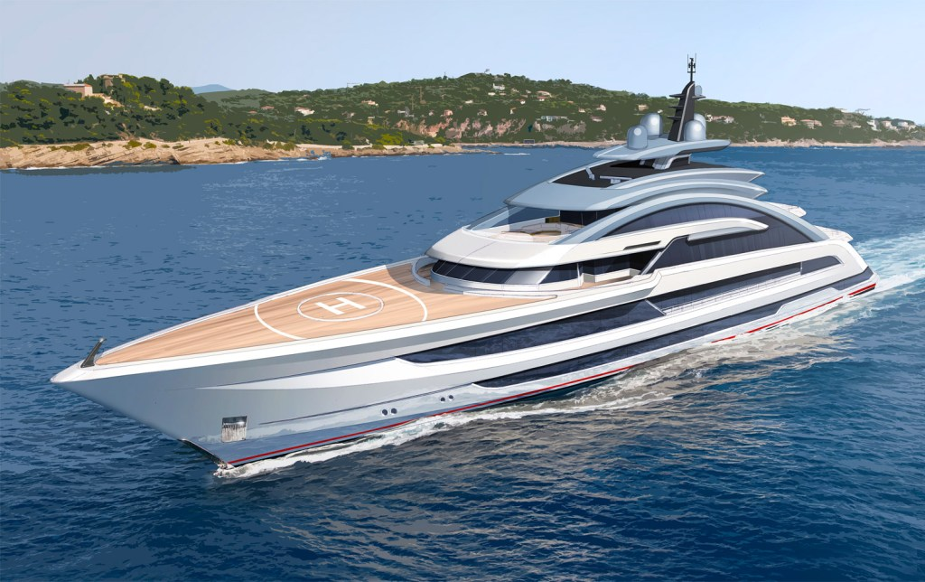 Heesen Yachts' Project Cosmos