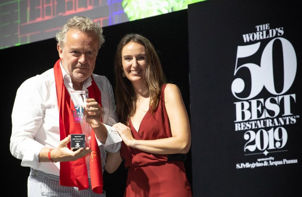 Alain Passard Wins 2019 Chefs' Choice Award