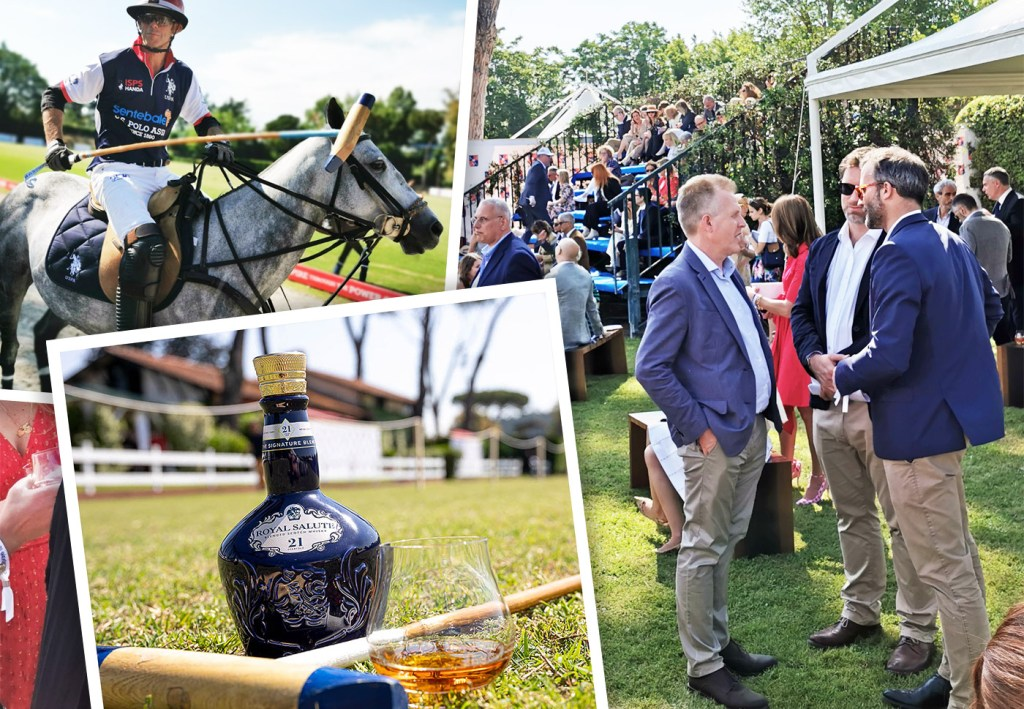 A Royal Salute To Polo In Rome