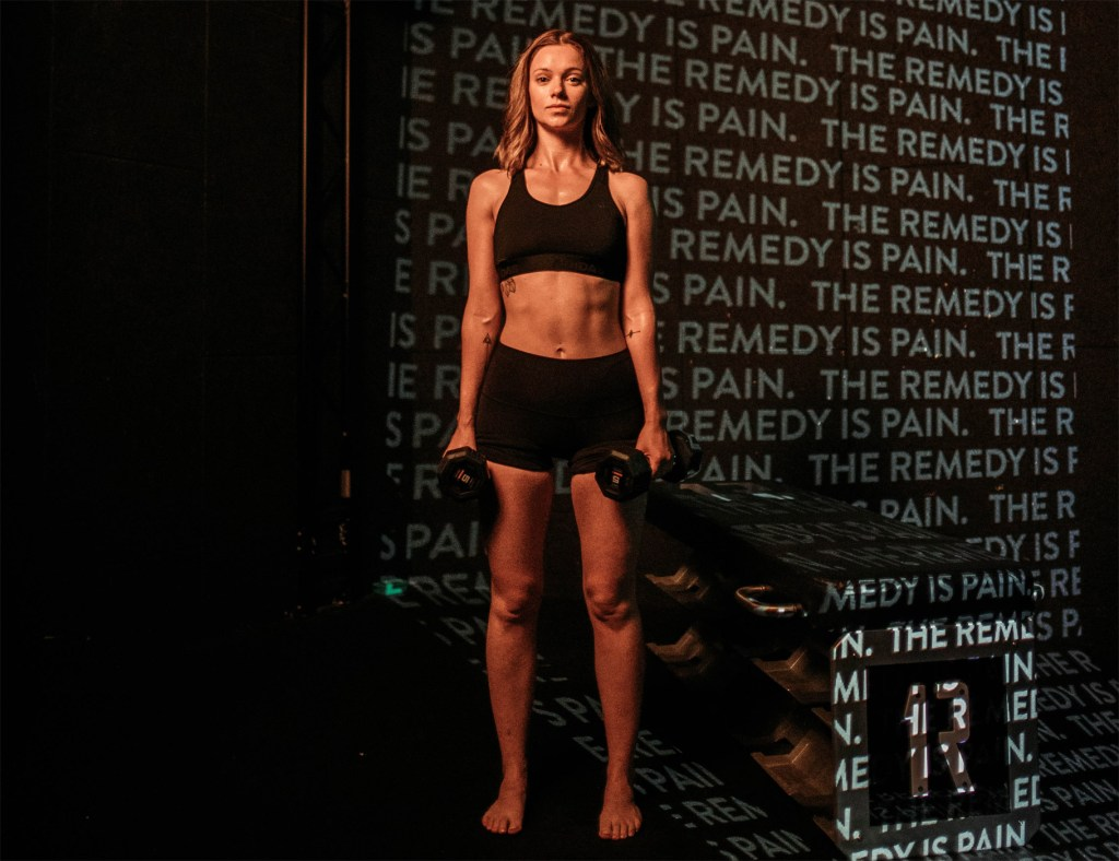 Reshape at 1Rebel Angel: One of London's Toughest Workouts 4