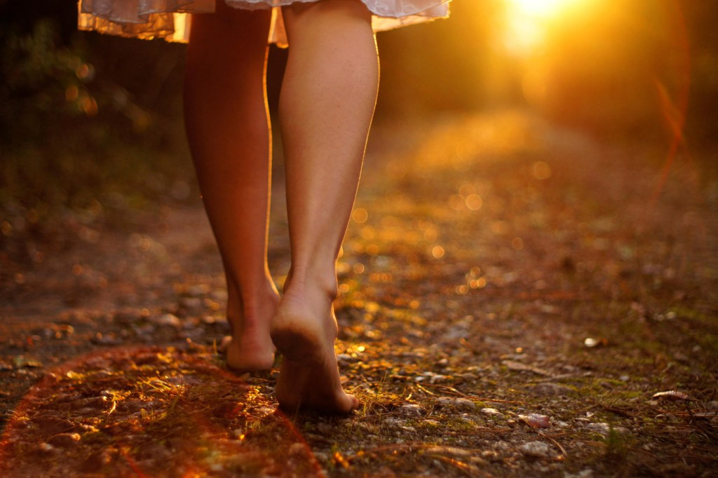 There's nothing like the experience of outdoor barefoot walking.