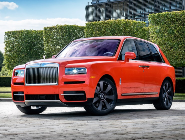 Latest Bespoke Rolls-Royce Commission is an Eye-Catching Orange Cullinan