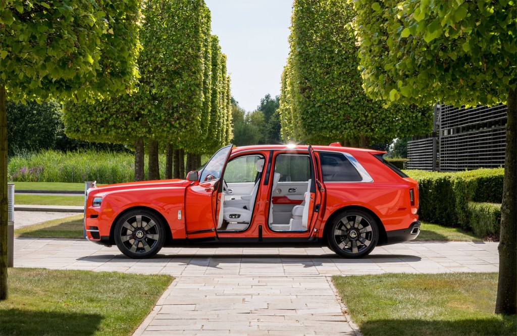 The Latest Bespoke Rolls-Royce Commission is an Eye-Catching Orange Cullinan 5