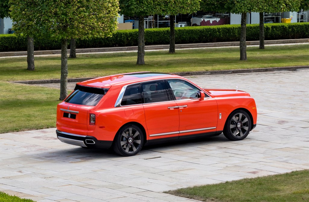 The Latest Bespoke Rolls-Royce Commission is an Eye-Catching Orange Cullinan 4