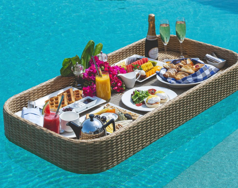 The New Floating Breakfast Concept at the Dusit Thani Maldives 15