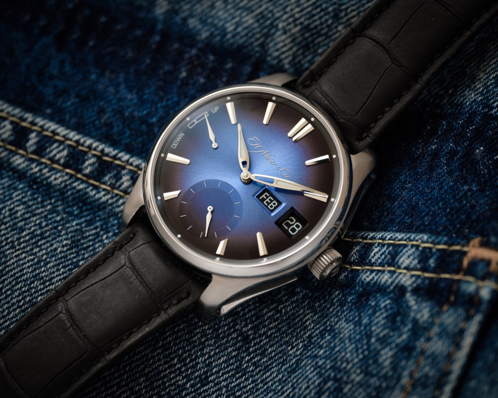 New Perpetual Calendar From H. Moser & Cie Gets a Dual Display Window 4