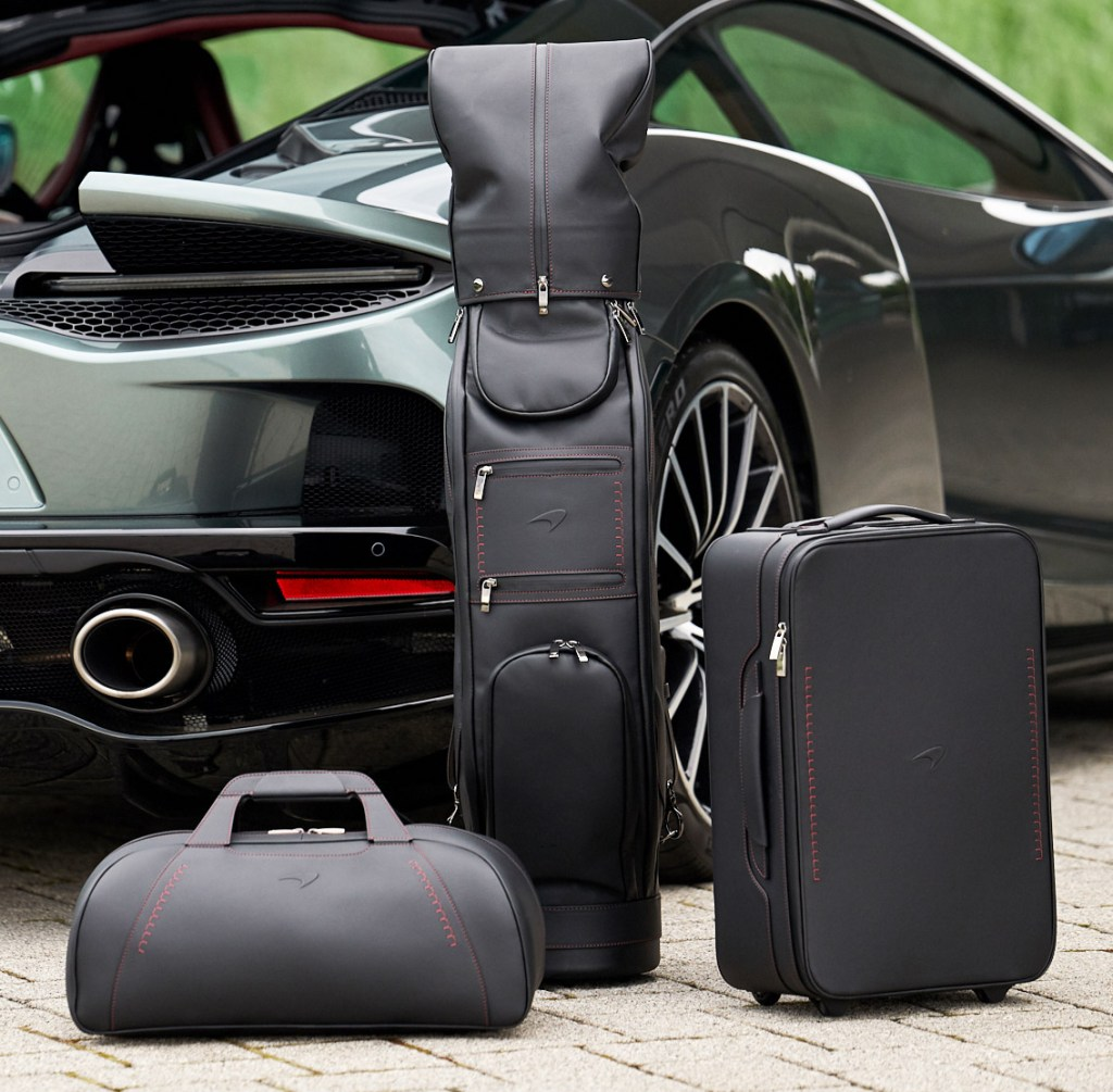 McLaren's New Four Piece Luggage Collection Costs the Same as a New Small Car 2