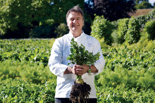 Luxurious Magazine interview with iconic chef Raymond Blanc