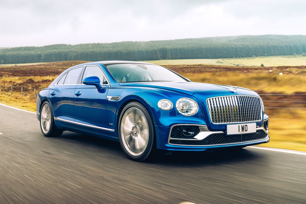 The latest incarnation of Bentley's Flying Spur.