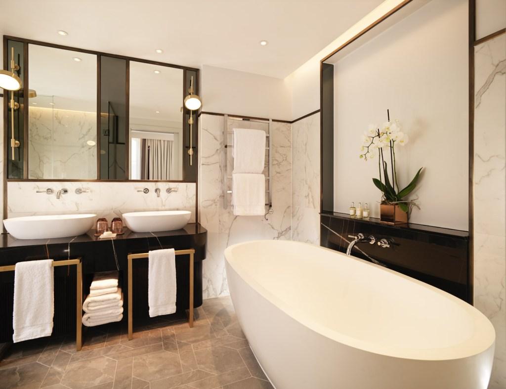 Bathroom's benefit from British amenities by Penhaligon's