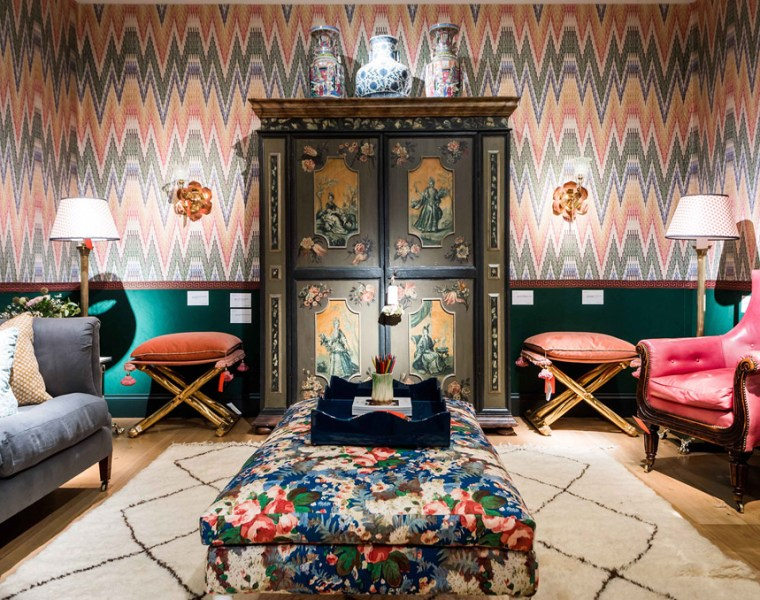 Fromental Introduces Bargello and Fiamma, Two New Handmade Wallcoverings